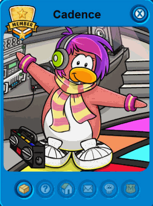 Club Penguin Cadence Tracker 2013
