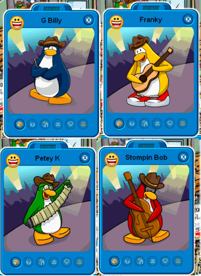 How to find Penguin Band on Club Penguin New 2010