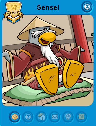 New Sensei Tracker Penguin