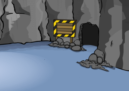 cave New Club Penguin Cave Entrance Sneak Peek!