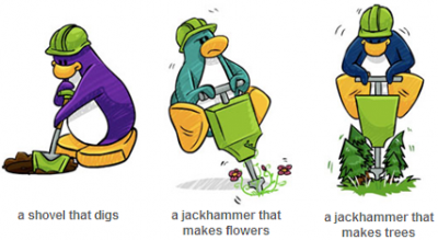 New New Club Penguin You Decide! Penguin