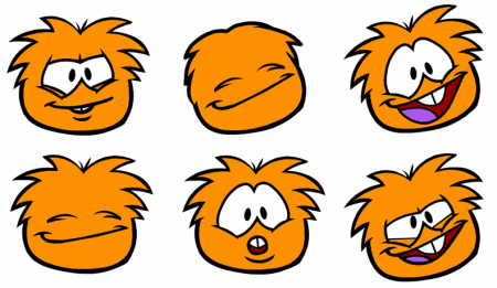 New New Pictures of the Club Penguin Orange Puffle!
