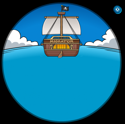 New Club Penguins Rockhopper Has Left The Island Of Club Penguin