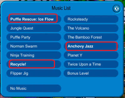 New Club Penguin New Igloo Music