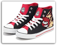 Club Penguin: New Club Penguin Shoes! club penguin