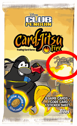 cpcard jitsu New Club Penguin Ninja and Volcano Theories